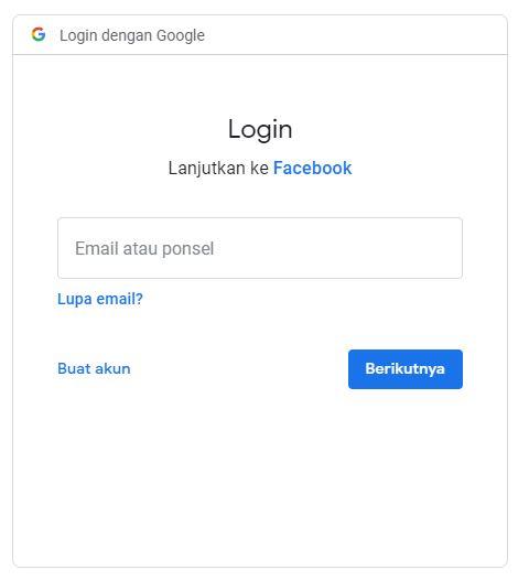 Transfer Foto Facebook ke Google Photo